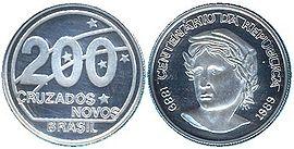 moedas cruzados novos